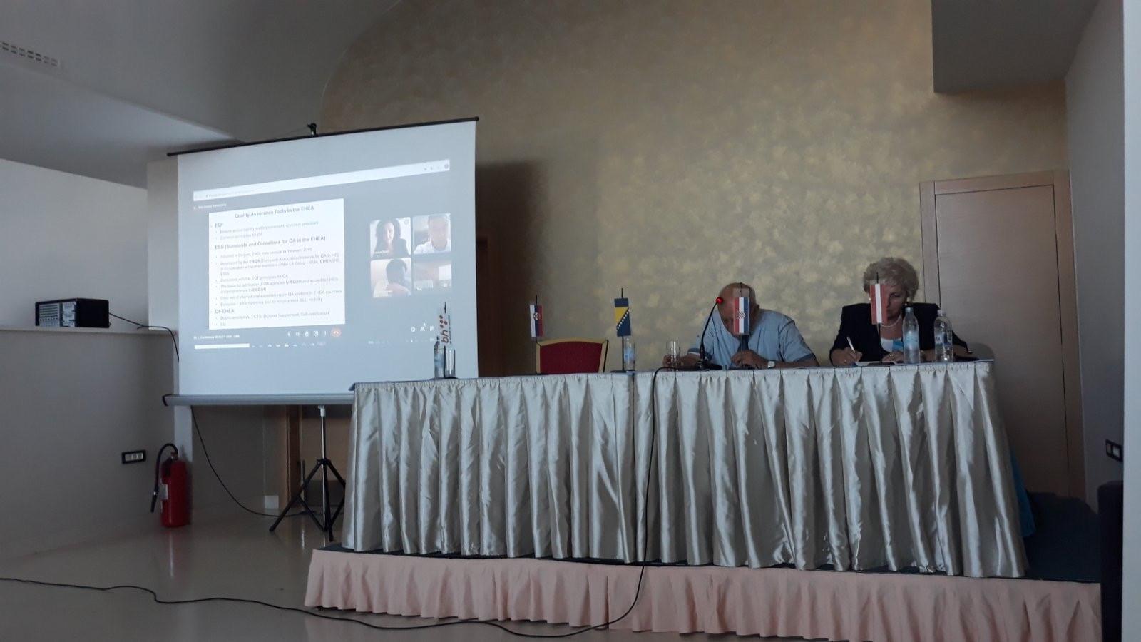Prezentovani Radovi Iz Oblasti Dualnog Obrazovanja Na XII Međunarodnoj Konferenciji Kvalitet 2021 U Neumu